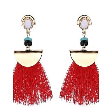 Dames Druppel oorbellen Vintage Oversized Kostuum juwelen Legering Geometrische vorm Sieraden Voor Toneel Feestdagen Uitgaan