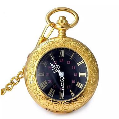 Bărbați Pentru femei Ceas de buzunar Quartz Aliaj Bandă Auriu