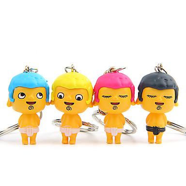 sac / telefon / keychain charm cartoon jucărie pvc metal farmecul telefonului mobil