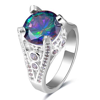 Pentru femei Inele Afirmatoare Inel Inel de logodna Design Basic Design Unic Bijuterii Statement SUA de Mireasă Chrismas Clasic Elegant