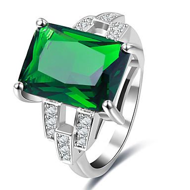 Damen Statementringe Ring Verlobungsring Personalisiert Luxus Einzigartiges Design Klassisch Retro Böhmische Grundlegend Viktorianisch