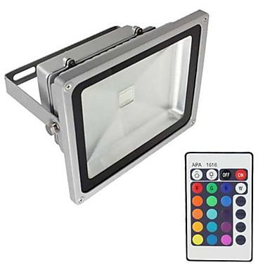 20W LED Flutlichter Wasserfest Dekorativ bezogen auf Wohnsitz Für den täglichen Einsatz Zuhause / Büro Außenbeleuchtung RGB