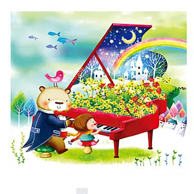 Holzpuzzle Piano Bär andere Holz Zeichentrick Unisex Geschenk