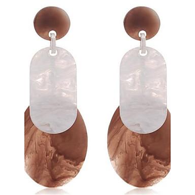 Damen Modisch Simple Style überdimensional Aleación Ovale Form Schmuck Für Alltag Normal Verabredung