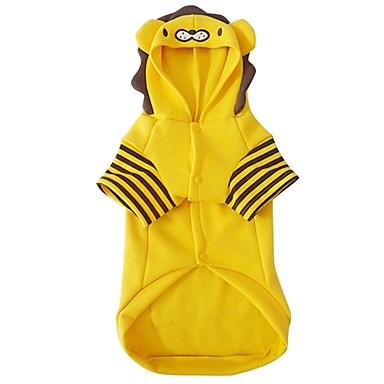 Hund Kostüme Hundekleidung Cosplay Löwe Gelb