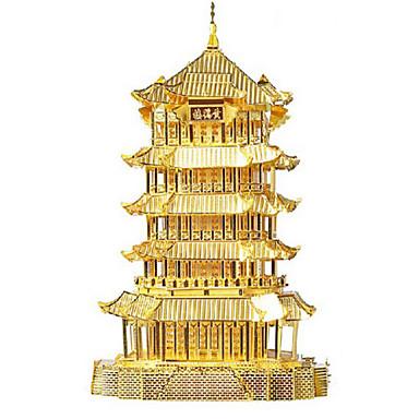 3D-puzzels Legpuzzel Speeltjes Beroemd gebouw Architectuur 3D Roestvast staal Metaal Unisex Stuks