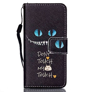 Case For iTouch 5/6 Wallet / Card Holder / with Stand Full Body Cases PU Leather Hard