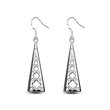 Pentru femei Cercei Picătură Zirconiu Cubic La modă Vintage Hipoalergenic Cute Stil Clasic Aliaj Tube Shape Triangle Shape Turn Bijuterii