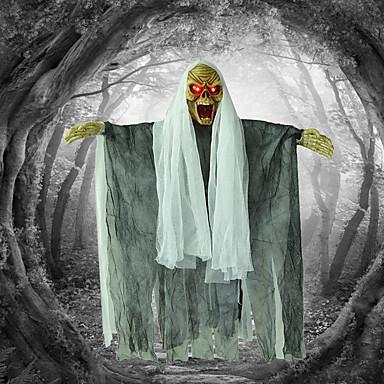 Halloween props bar bântuit caseta strălucitor spânzurat fantomă demon groază numit schelet agățat decorațiuni decorative decorare