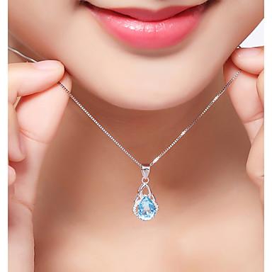 Pentru femei Geometric Shape Lux Clasic Boem Natură Multi-moduri Wear Coliere cu Pandativ Diamant sintetic Ștras Plastic Zirconiu Coliere