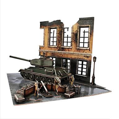 DHZ-kit 3D-puzzels Legpuzzel Speeltjes Tank 3D DHZ Mannelijk Jongens Stuks