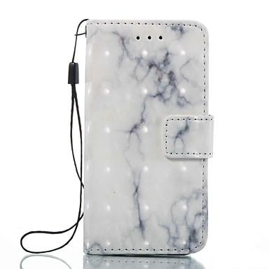 Carcasă pentru Apple ipod touch 5 touch 6 carcasă capac portbagaj portofel cu stand flip model carcasă plin corp marmură hard piele pu