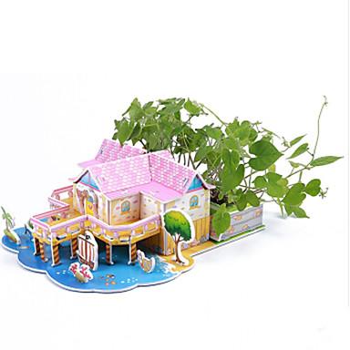 قطع تركيب3D تركيب ألعاب بناء مشهور بيت معمارية 3D اصنع بنفسك ستايروفوم ورقة للأطفال قطع