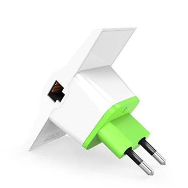 Vonets vrp300 - plus amplificator amplificator de semnal amplificator 2.4ghz 300mbps dual lan ports eu plug