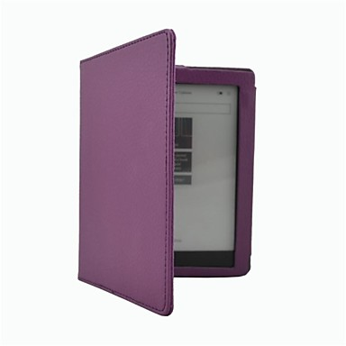 Case For KOBO Full Body Cases Full Body Cases Solid Color Hard PU Leather for