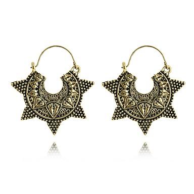 Pentru femei Cercei Picătură Bijuterii Personalizat Hipoalergenic La modă Aliaj Circle Shape Round Shape Star Shape Geometric Shape
