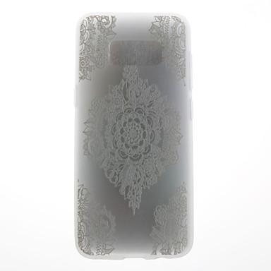 غطاء من أجل Samsung Galaxy S8 Plus S8 نموذج غطاء خلفي الطباعة الدانتيل ناعم TPU إلى S8 S8 Plus S7 edge S7 S6 edge S6