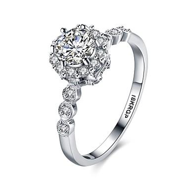 Pentru femei Band Ring Cristal Zirconiu Cubic Personalizat Γεωμετρικά Bling bling Cute Stil Modă Cristal Zirconiu Zirconiu Cubic Argilă