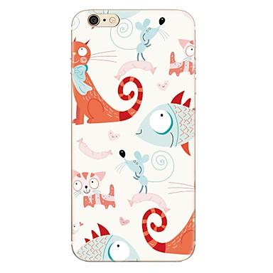 Caz pentru iphone 7 7 plus model de fructe de desene animate tpu soft back cover pentru iphone 6 plus 6s plus iphone 5 se 5s 5c 4s