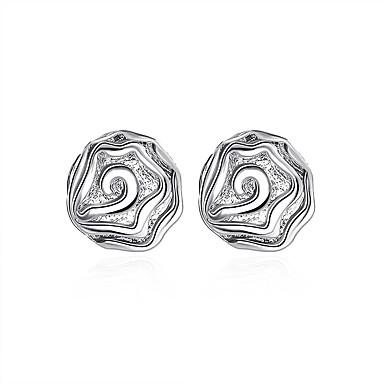 Pentru femei Cercei Stud - Argilă Minge De Bază Argintiu Pentru Petrecere / Zilnic / Casual