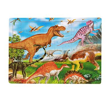 Houten puzzels Steekpuzzels Dinosaurus Fruit Plezier Klassiek 6 jaar en ouder