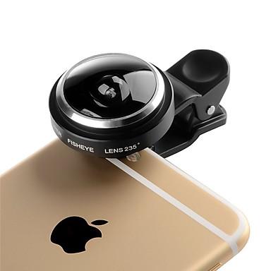 Kyotsu Telefonobjektiv 235 Fischaugenlinse Aluminium-Handy-Kameraobjektivinstallationssatz für Samsung-androides smartphones iphone