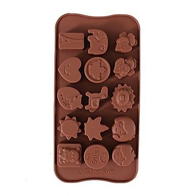 2 قطعتين قوالب الكيك بدعة لأواني الطبخ لالخبز لالشوكولاته لكعكة أداة الخبز 3D جودة عالية المطبخ الإبداعية أداة اصنع بنفسك