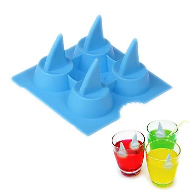 Kuchenformen Shark Für Eiscreme Eis Für Ice Silikon Kreative Küche Gadget Weihnachten Hochzeit Geburtstag Valentinstag Danksagungen
