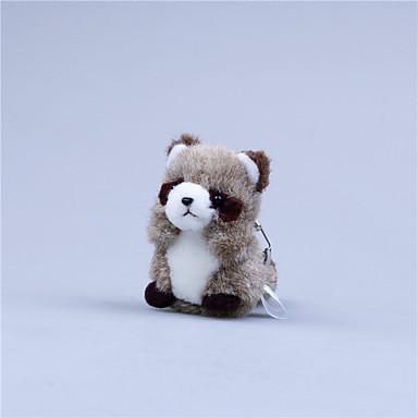 tas / telefoon / sleutelhanger charme cartoon speelgoed faux fur mobiele telefoon charms