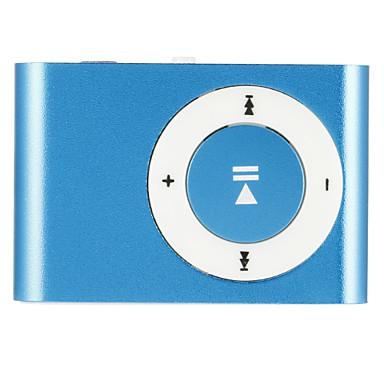 1-8gb υποστήριξη Micro SD TF μόδα μίνι μεταλλικό κλιπ USB Media μουσική mp3 player