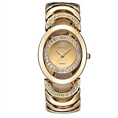 Pentru femei Ceas La Modă Quartz Aliaj Bandă Casual Argint Auriu Roz auriu