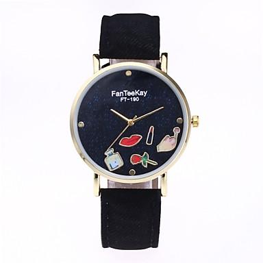 Pentru femei Ceas Elegant Ceas La Modă Ceas de Mână Unic Creative ceas Chineză Quartz PU Material Bandă Desene Animate Charm Casual