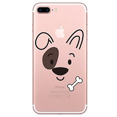 Case voor apple iphone 7 7 plus case cover cartoon hond patroon geschilderd hoge penetratie tpu materiaal zacht geval telefoon hoesje voor