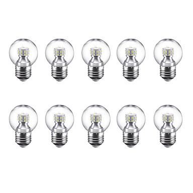 3W 250 lm E27 Bulb LED Glob G45 24 led-uri SMD 2835 Alb Cald Alb Rece 220V