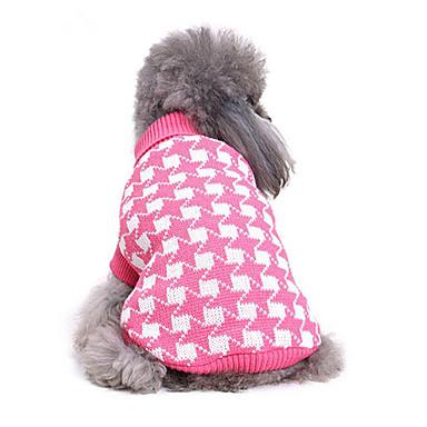Hund Pullover Hundekleidung Geometrisch Baumwolle Kostüm Für Haustiere Herrn Damen Lässig/Alltäglich