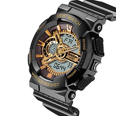 Herrn Einzigartige kreative Uhr Armbanduhr Militäruhr Modeuhr Sportuhr Armbanduhren für den Alltag digital Kalender Wasserdicht Nachts