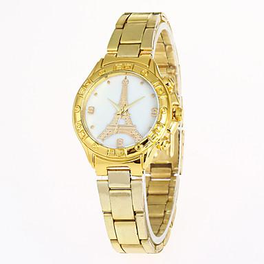 Damen Einzigartige kreative Uhr Armbanduhr Militäruhr Modeuhr Sportuhr Armbanduhren für den Alltag Quartz Schlussverkauf Edelstahl Band