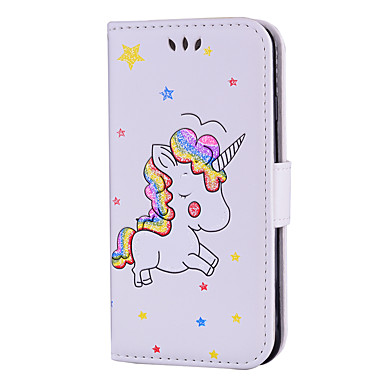 Con Custodia 8 Resistente Per Plus disegno magnetica iPhone credito di carte Integrale chiusura 06135260 8 iPhone Fantasia Porta Apple Unicorno BqBXrwAxP