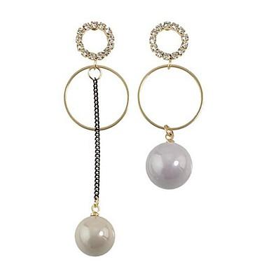 Pentru femei Cercei Stud La modă Personalizat stil minimalist Nepotrivirea Aliaj Round Shape Bijuterii Pentru Zilnic Dată Concediu