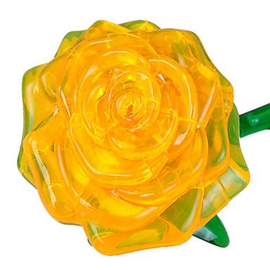قطع تركيب3D تركيب دائري الورود 3D اصنع بنفسك البلاستيك للجنسين هدية