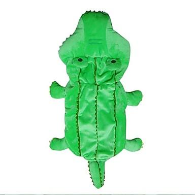 Hund Kostüme Hundekleidung Warm Cosplay Tier Grün Kostüm Für Haustiere