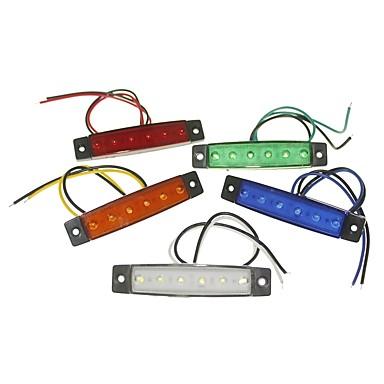 voordelige Motorverlichting-SENCART 1 Stuk Vrachtwagen / Motor / Automatisch Lampen 1.5W SMD LED 120lm 6 Exterieur Lights For Universeel Alle jaren