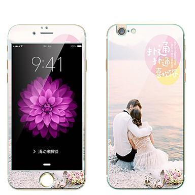 Ecran protector pentru Apple iPhone 7 Plus Sticlă securizată Ecran Protecție Față & Spate Ecran Protecție Întreg 9H Duritate La explozie