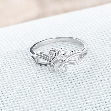 Pentru femei Inel Argintiu Plastic Geometric Shape Γεωμετρικά Casual Costum de bijuterii