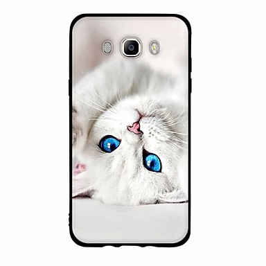 coque pour samsung galaxy j7 2017 j3 2017 motif coque chat flexible tpu pour j7 v j7 perx j7. Black Bedroom Furniture Sets. Home Design Ideas
