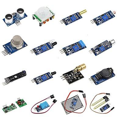 DIY Kit de senzori 16 in 1 pentru zmeura pi