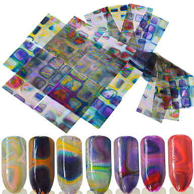16 Nail Art autocolant Αξεσουάρ 3-D Consumabile DIY Autocolant machiaj cosmetice Nail Art Design