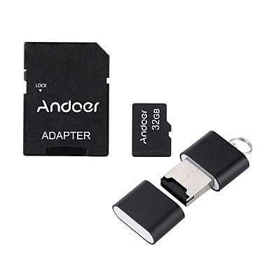 Andoer 32 Gb Tf Karty Micro Sd Karta Pametova Karta Class10 6217585