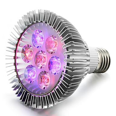 450-550 lm E27 Kasvavat valonheittimet 5 ledit Teho-LED Punainen Sininen AC 85-265V