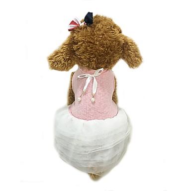 Câine Rochii Îmbrăcăminte Câini Casul/Zilnic Solid Roz